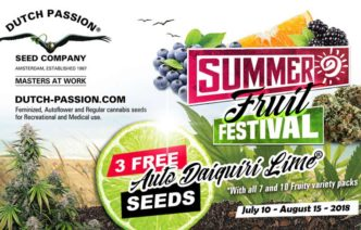 DUTCH PASSION SUMMER FRUIT FESTIVAL auf Samenwahl.com